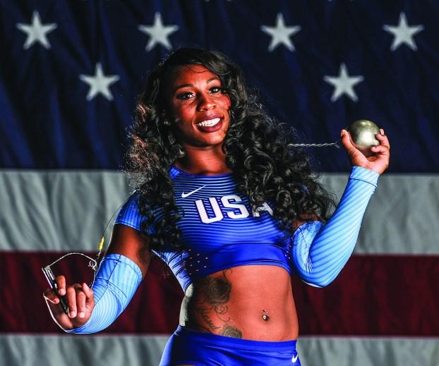 Gwen Berry Team USA