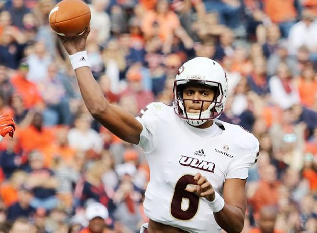Know Your Foe Caleb Evans A Bright Spot At Quarterback For Struggling Louisiana Monroe The Oxford Eagle The Oxford Eagle